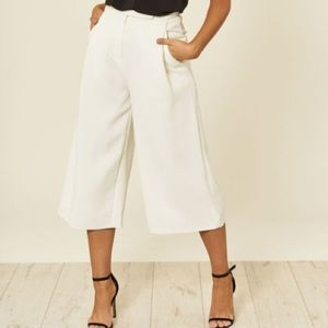 THE LIMITED Cassidy Fit White Culottes